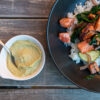 Salmon Veggie bowl Gin+Scal