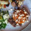 Steak with Saucí Piri Piri and Blue Cheese