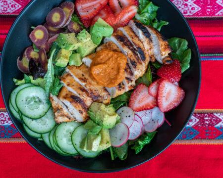 Piri Piri Chicken Salad
